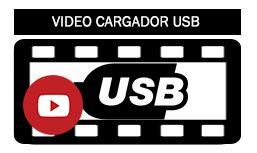 Maleta trolley con Cargador USB para móviles