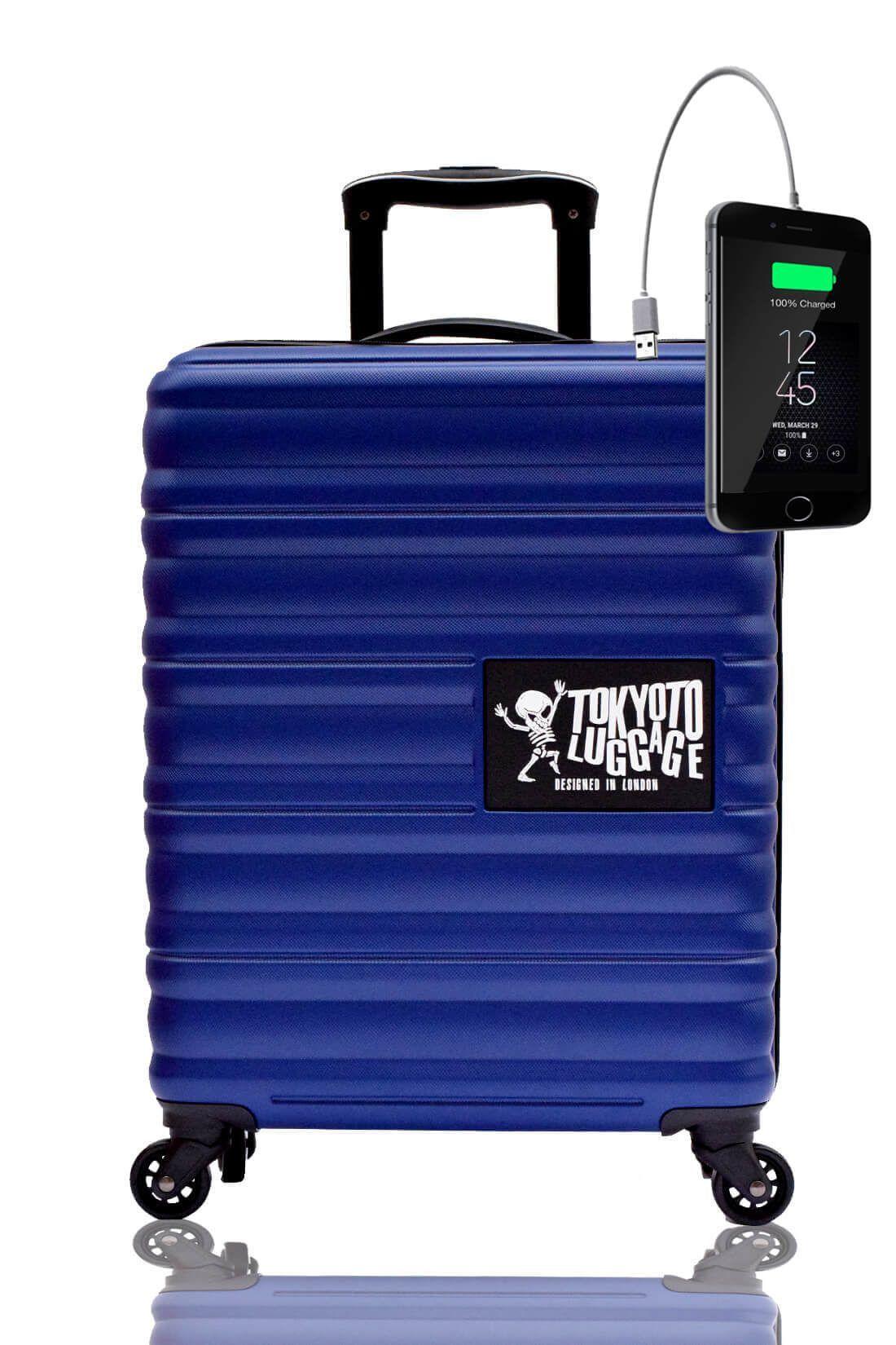 BLUE MARINE Maleta de Cabina con Cargador para Movil