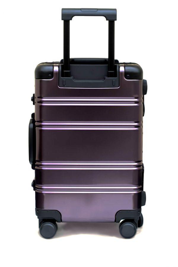 Maleta de Cabina Metalica Aluminio 4 ruedas Rigida Calavera Tokyoto Luggage 2