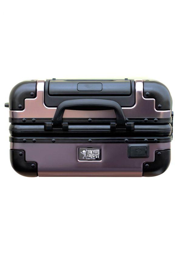 Maleta de Cabina Metalica Aluminio 4 ruedas Rigida Calavera Tokyoto Luggage 5