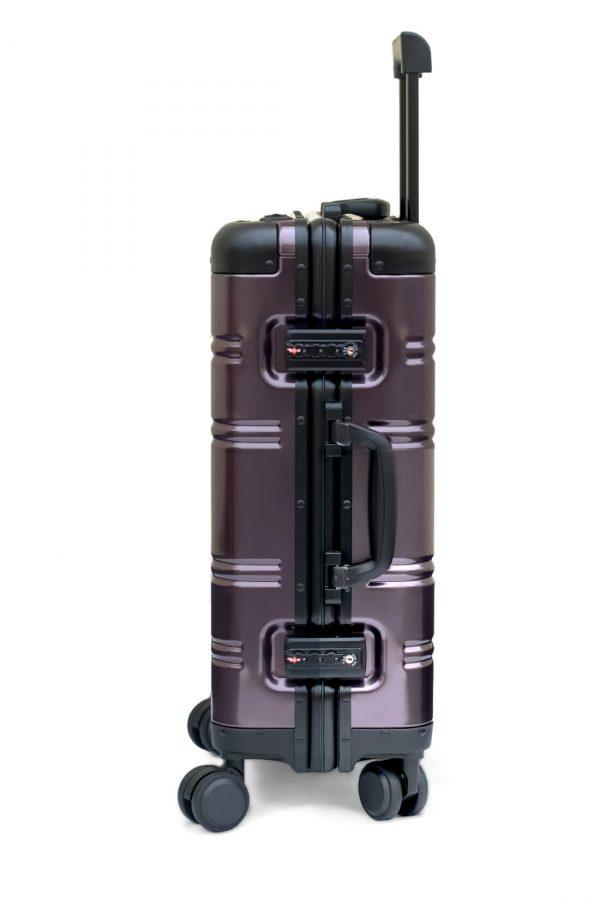 Maleta de Cabina Metalica Aluminio 4 ruedas Rigida Calavera Tokyoto Luggage 6