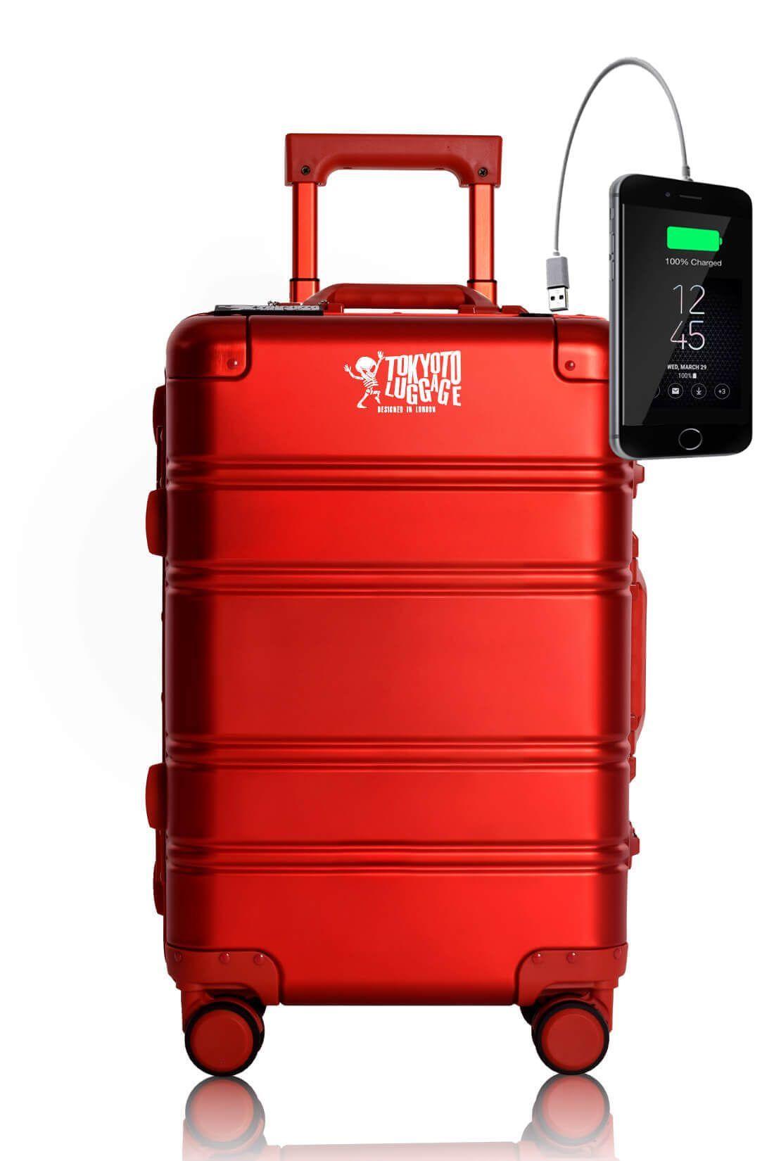 Web RED LOGO Maleta de Cabina con Cargador para Movil